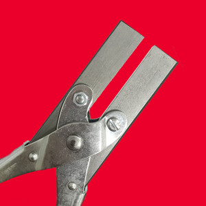 Customisable Soft Jaws Parallel Plier 200 mm | Maun