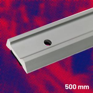 Aluminium Safety Straight Edge 500 mm | Maun