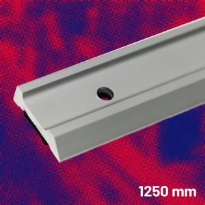 Aluminium Safety Straight Edge 1250 mm | Maun