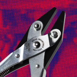 Smooth Jaws Flat Nose Parallel Plier Return Spring 160 mm | Maun