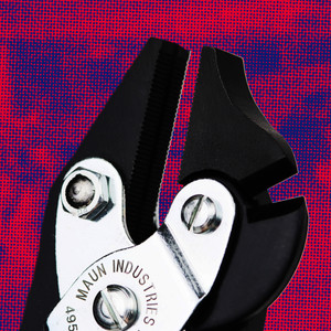Side Cutter Parallel Plier For Hard Wire Grips 160 mm | Maun