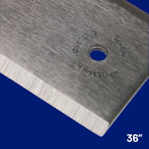 "Steel Straight Edge Imperial 36"" | Maun"