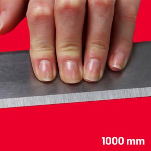 Steel Straight Edge Metric 1000 mm | Maun