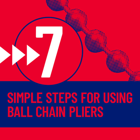 What are ball chain pliers and what are they used for?