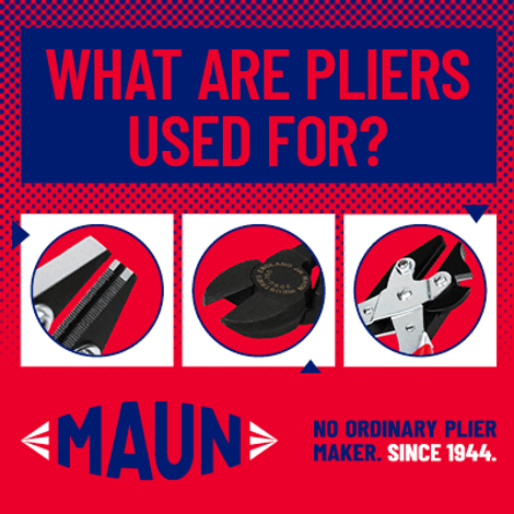 What are pliers used for?