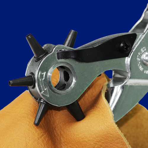 Revolving Leather Hole Punch Plier 2 mm To 4.8 mm | Maun