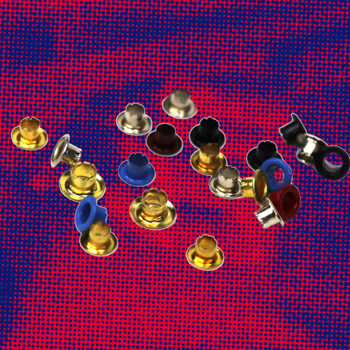 Coloured Eyelets 100 Pack 4 mm | Maun