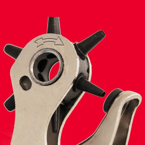 Heavy Duty Revolving Leather Hole Punch Plier   Maun