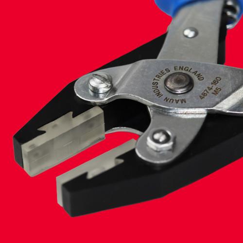 Soft Plastic Jaws Flat Nose Parallel Plier Comfort Grips 160 mm   Maun