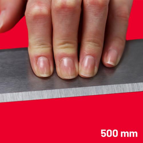Steel Straight Edge Metric 500 mm   Maun