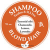 natural Shampoo essential oils great for Blond Hair