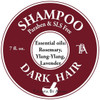 This Shampoo is made with specific essential oils great for Dark Hair