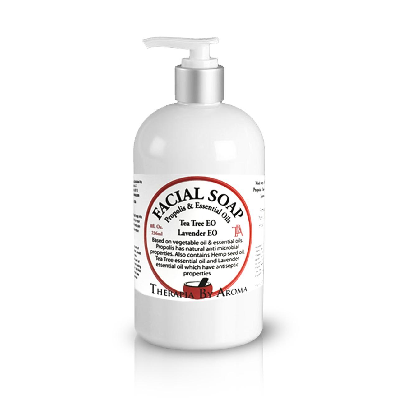 Facial Soap Propolis - with Tea tree & Lavender essential oils
