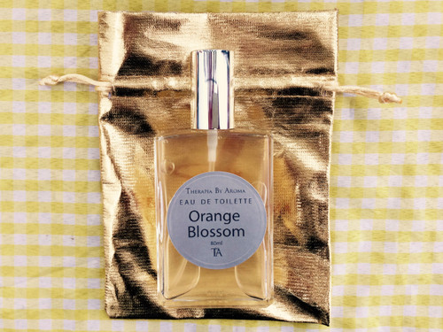 Orange Blossom Eau de parfum 100ml made with essential oil therapia by aroma. Atelier des parfums.