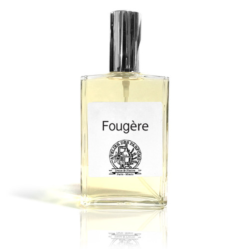 Fougère Eau de parfum 100ml made with essential oil of Fern - Natural Perfume therapia by aroma. Atelier des parfums.