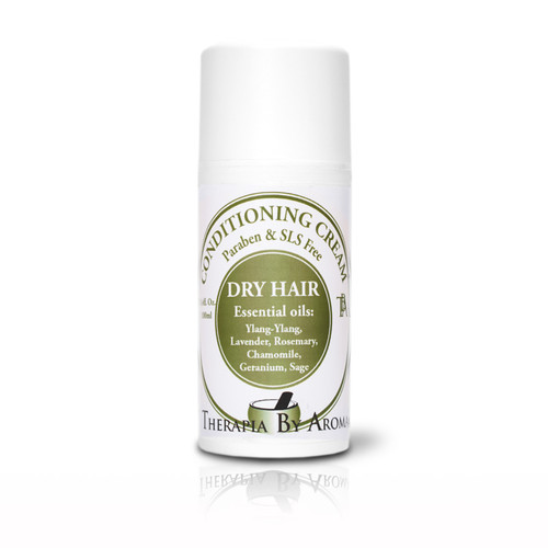 Conditioner Dry Hair - made with Natural Essential Oils and Hemp seed oil