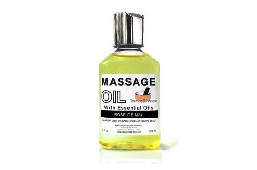 Massage Oil Rose de Mai