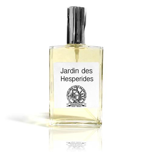 Jardin des hesperides Natural Eau de Parfum 100ml therapia by aroma. Atelier des parfums.