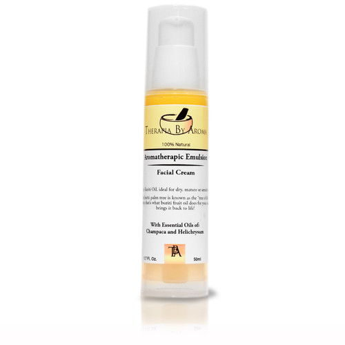 aromatherapic spf buriti oil hydration, moisturizer
