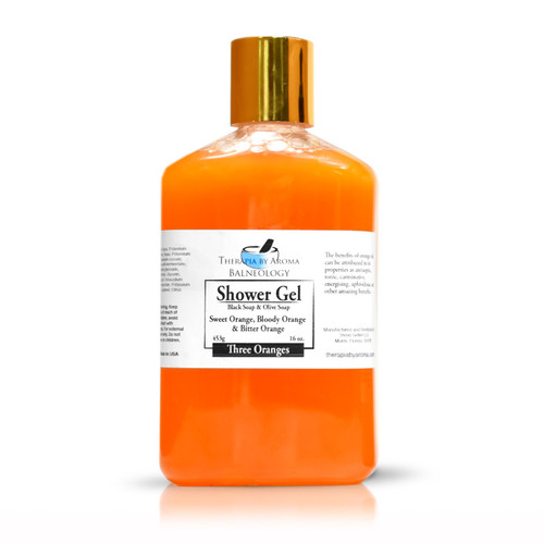 shower gel 3 oranges