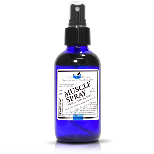 Muscle Spray Body Oil