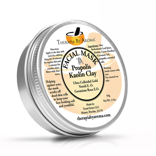 Facial Mask Propolis Kaolin Clay