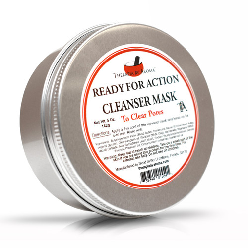 ready for action cleanser mask