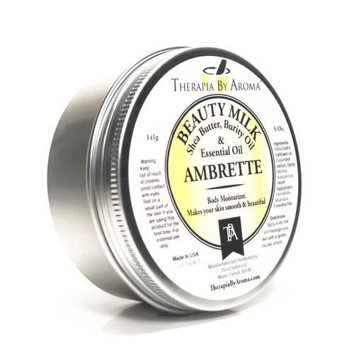 ambrette beauty milk body moisturizer