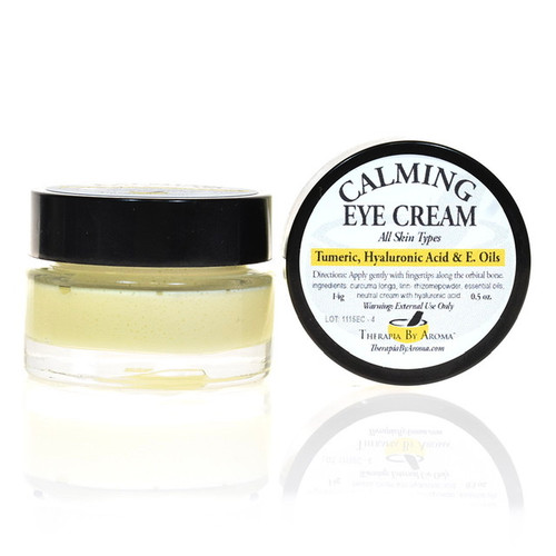 Calming eye cream Turmeric Hyaluronic acid