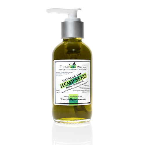 Hemp seed Body Oil - Massage Oil
