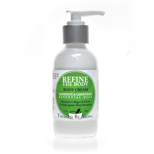 Water retention body cream