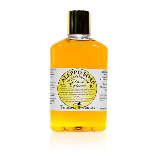 Aleppo Soap Floral Explosion - Face and body wash