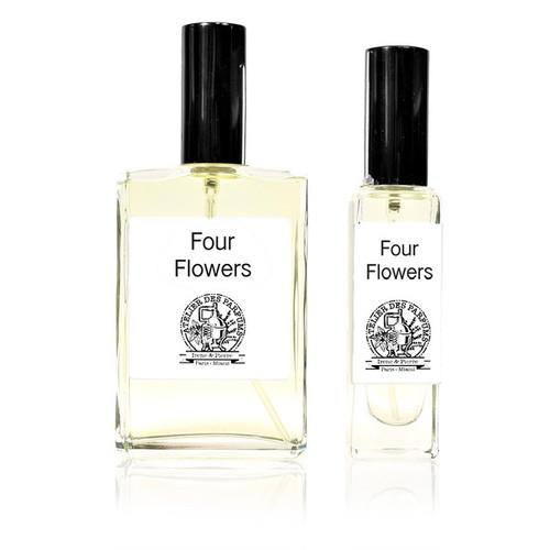 Four Flowers eau de parfum, perfume made with essential oils