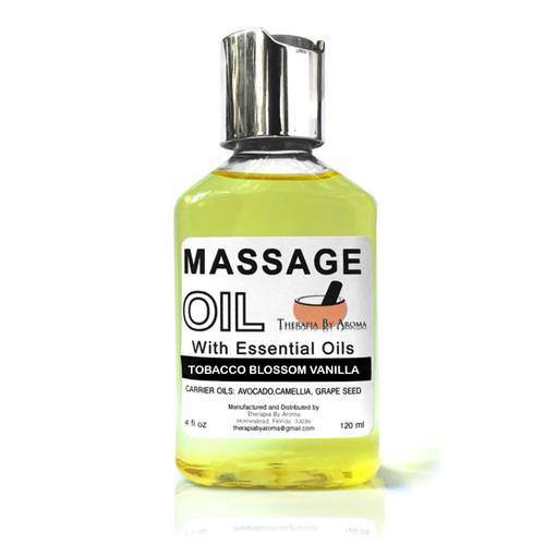 tobacco massage oil