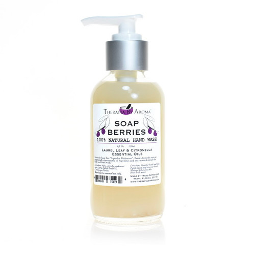 Soap berries hand wash