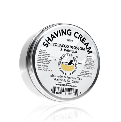 Shaving cream tobacco blossom vanilla