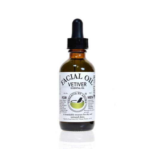 Vetiver facial oil