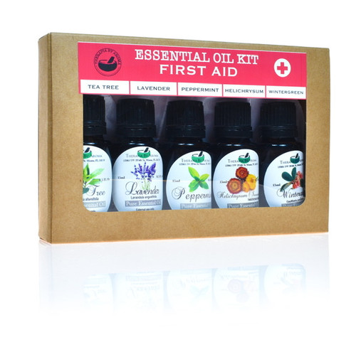 Essential Oils First Aid Kit