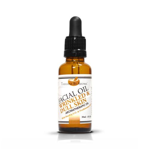 facial oil wrinkled dull skin