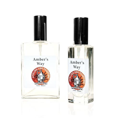 amber Natural Eau de Parfum 100ml therapia by aroma. Atelier des parfums.