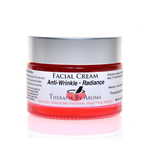 Anti-Wrinkle - Radiance Cream - essential oil skin care treatment - Natural Anti Aging