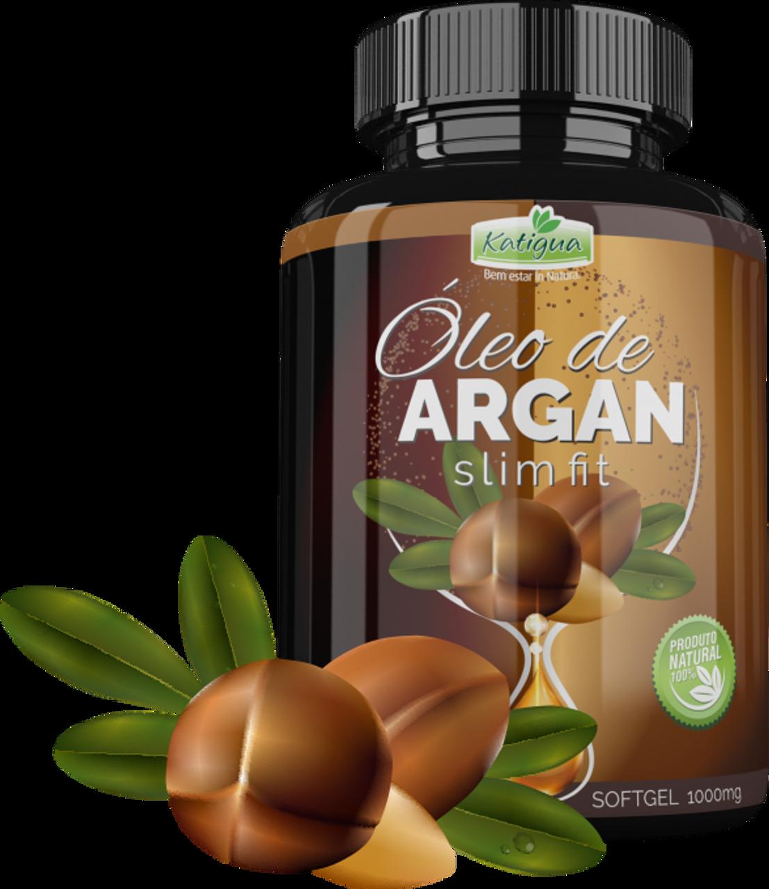 9aab47d17 Argan Oil Slim Fit - 60 Softgel - Amazonia Brasil