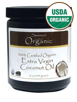 Oleo de Coco Liquido - 100% Certified Organic Extra Virgin Coconut Oil 16oz