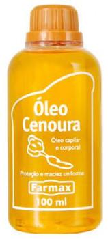 Oleo de Cenoura Farmax - 100ml