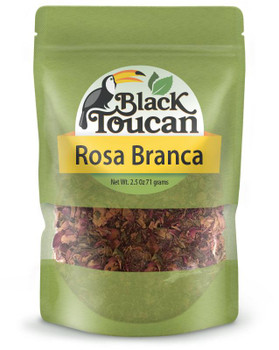 ROSA BRANCA Black Toucan (Rosa alba)