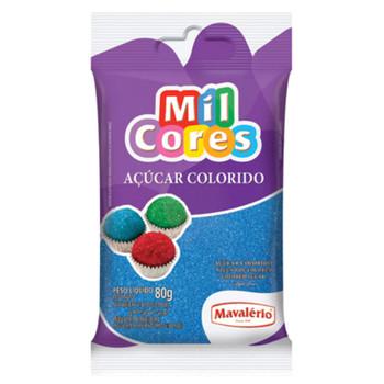 Açúcar Colorido 80g Mavalério