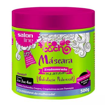 Salon Line To de Cacho( Mascara para Hidrataçao Poderosa) 500g