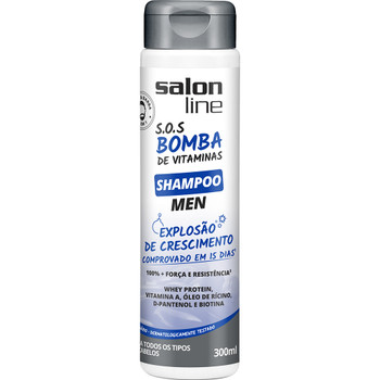 Salon Line SOS Bomba de Vitaminas (Explosao de Crescimento) Shampoo Men - 300ml