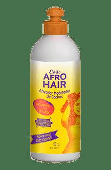 Estilo Afro Hair Ativador Modelador de Cachos-300ml