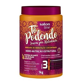 SALON LINE TO PODENDO MASCARA HIDRO-NUTRICAO ESTRUTURAL NIVEL 3 - 1KG